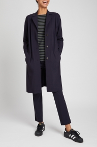 Zenggi Sporty Coat zwart