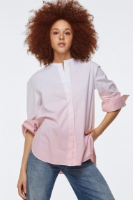 Dorothee Schumacher RISING FRESHNESS blouse - rising rose