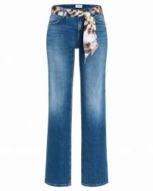 Cambio tess wide jeans - denim blue