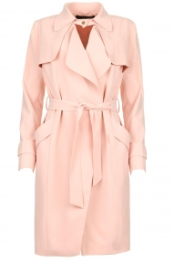 Arma Leder CECILIA trench coat - pink