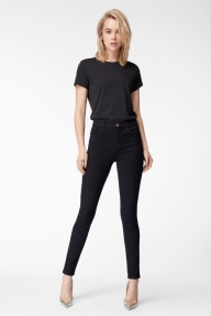 J Brand -MARIA High-Rise Skinny Leg w/pockets donkerblauw