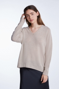 SET Fashion Pullover beige