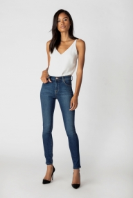 J Brand MARIA High-Rise Skinny Leg Fleeting