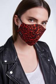 SET Fashion mondkapje - zwart/rood