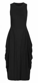 High AT-LENGTH dress - black