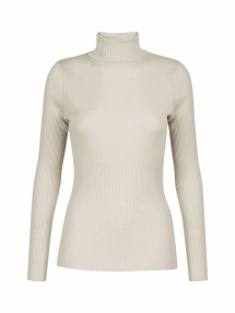 No Man's Land roll-neck sweater - marble