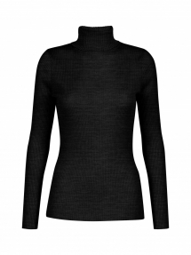 No Man's Land roll-neck sweater - antracite
