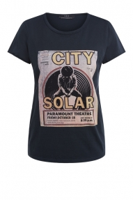SET Fashion Rocky band shirt black