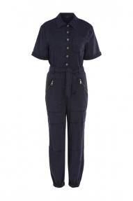 SET Fashion Utility Jumpsuit - black