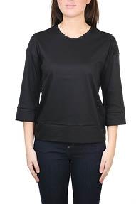 Strenesse Jersey-Shirt/Top zwart