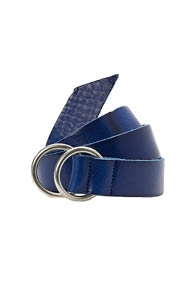 Closed Ring Buckle Belt blauw
