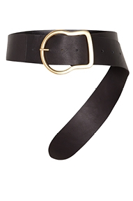 Dorothee Schumacher Decorated Mixtures belt - black