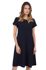 Zenggi Flowly Dress donkerblauw