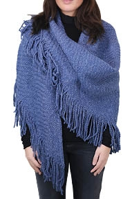 CC Connection Poncho licht blauw