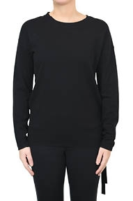 Hunkydory Molly Strap Knit zwart
