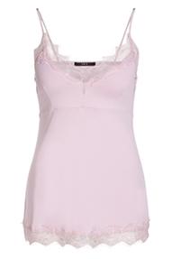 SET Fashion Taira Lace Strap Top - winter rose
