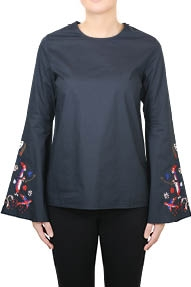 Essentiel Paradise Long Sleeved donkerblauw