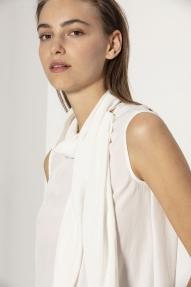 Luisa Cerano Bluse off white