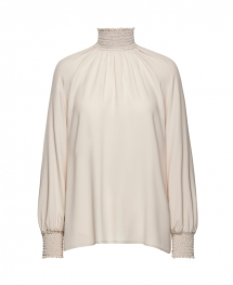 beatrice blouse soft sand