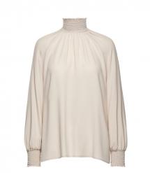 beatrice blouse soft sand