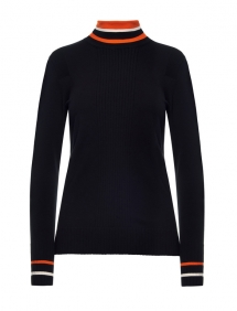 beatrice polo neck zwart