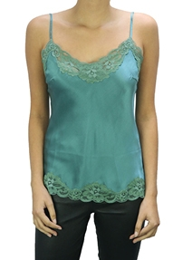 Gold Hawk Top Floral Cami groen