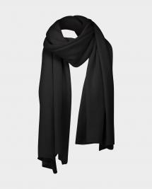 Allude 100% cashmere scarf - zwart