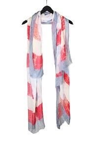 Ottotredici sjaal multicolour