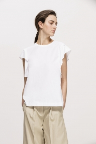 Luisa Cerano cotton blouse - white