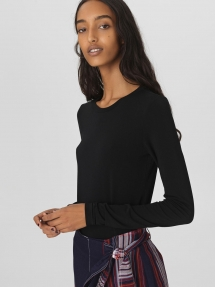 By Malene Birger Elsebet T-shirt zwart