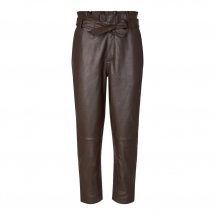 co couture Phoebe leather pants mocca