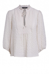 SET Fashion blouse light beige