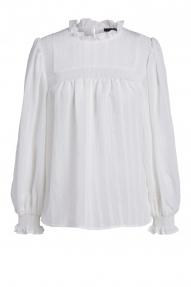 SET Fashion blouse - cloud dancer