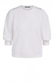 SET Fashion Jumper with statement sleeves - cloud dancer