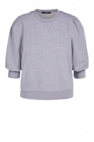 SET Fashion Jumper with statement sleeves - light grey