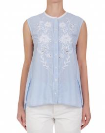 HIGH IDYLLIC blouse - lichtblauw