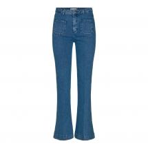 co couture piper flare jeans blue stonewash