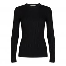 co couture badu o rib knit black
