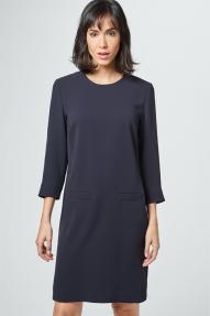 Windsor Dress donkerblauw