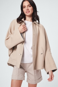Windsor cape jacket - beige