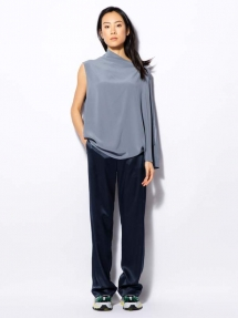 Ahlvar Gallery AVA TROUSERS blue grey