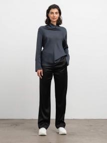 Ahlvar Gallery Ayumi blouse blue grey