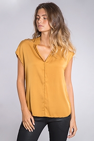By Malene Birger fiolana top - gold