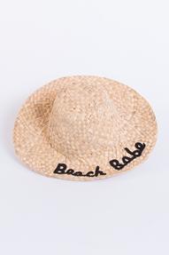 Bianca van Leur Shawls Beach Babe Hat camel
