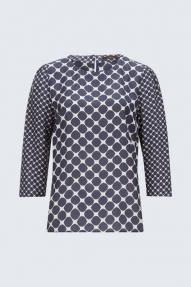 Windsor blouse donkerblauw