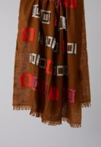 Closed scarf - multicolour