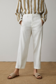 Closed Linen & Lyocell Ludwig pants - ivory