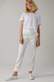 Closed linen & lyocell stewart pants - ivory