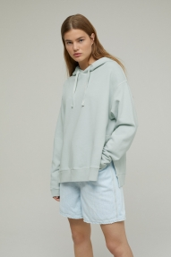 Closed hoodie frosted mint