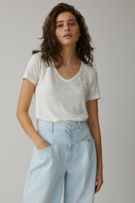Closed pure lining t-shirt - ivory